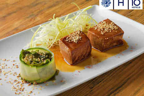 Three O Two Restaurant - Tapas Meal for Two with Dessert and Glass of Cava Each - Save 0%