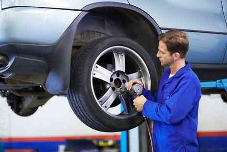 Fast Track Tyres - Four Wheel Laser Alignment and Adjustment  - Save 52%