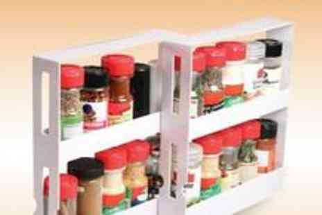 Auto Bin - Auto Kitchen swivel spice rack organiser - Save 60%
