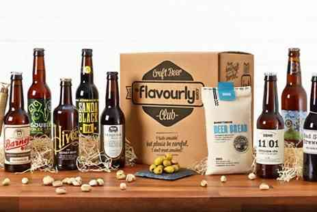 Flavourly  - Eight Personalised Craft Beers with Flexible Flavourly Beer Club Membership  - Save 80%