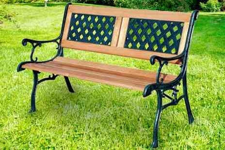 Your Essential Store - Two Seater Bench - Save 74%