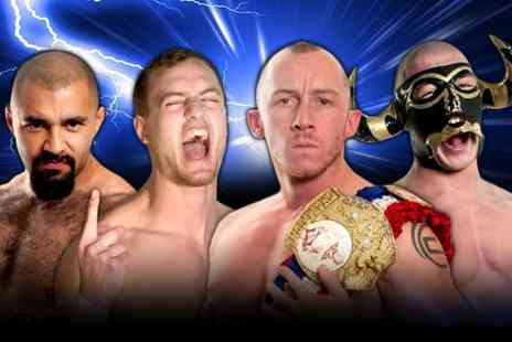 Infinite Promotions - Family ticket to IYS Danny in the Cage with Tassels professional wrestling  - Save 70%