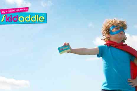 Skidaddle - 12 Month Family Discount Card For Attractions Nationwide - Save 37%