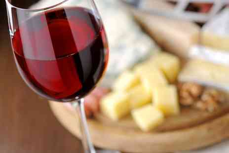 Vinoteque of Surbiton - Cheese Platter With Wine For Two  - Save 48%