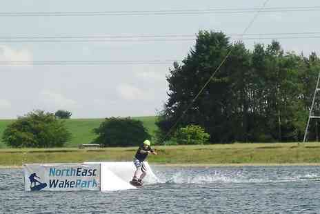 North East Wake Park - Wakeboarding and Stand Up Paddleboarding For One - Save 30%