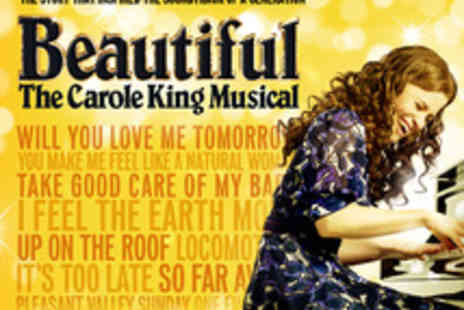 Ingresso - Beautiful tickets to The Carole King Musical - Save 0%
