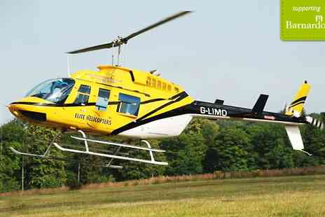 Elite Helicopters - Choice of four helicopter tours - Save 31%