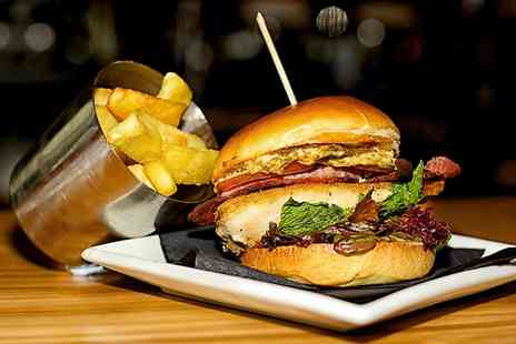 Bendigo - Burger and Chips With Beer and Salad  - Save 31%
