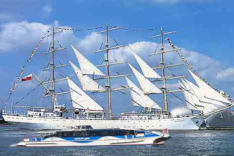 MBNA Thames Clippers - Guided Tall Ship Island Tour - Save 0%