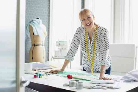 London Textiles Studio - One Day Dressmaking Class - Save 67%