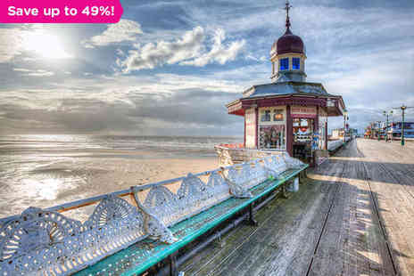 The Hotel Collection - One night stay Cosy Seaside Charm and Bright Lights of Blackpool - Save 49%