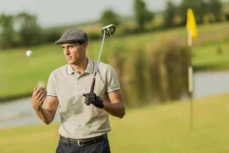 Bishopbriggs Golf Range - Full Day of Golf Tuition Including TrackMan Analysis  - Save 72%