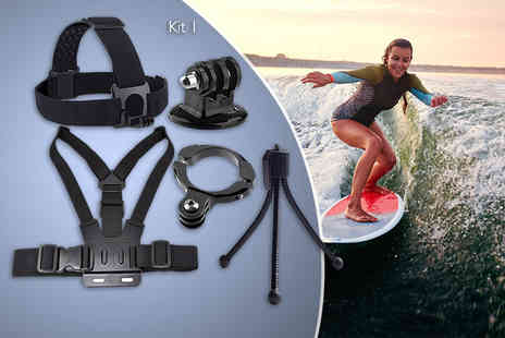 West Base Electronics - Go Pro action camera accessory kit - Save 53%