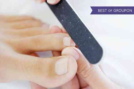 First Steps Podiatry - One Hour Podiatry Treatment Plus Gel Polish Overlay - Save 64%