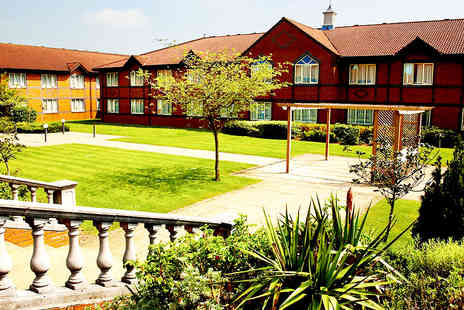 The Hotel Collection - Northamptonshire Stay for Two with Three Course Meal and Wine - Save 0%