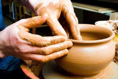 Tradpots - Two Hour Pottery Making Class for One  - Save 48%
