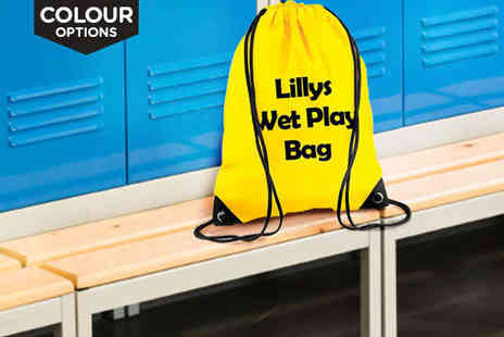 BTailor made gifts - Personalised Drawstring Bag - Save 70%