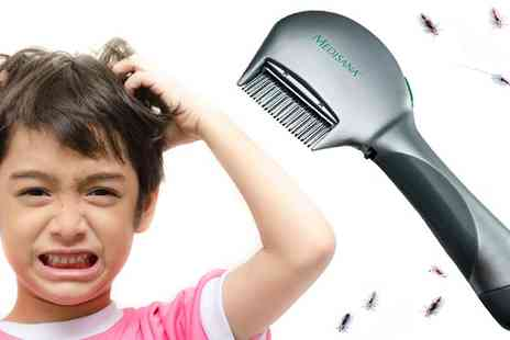 eCom Group - Medisana Electronic Head Lice Comb for Children - Save 0%