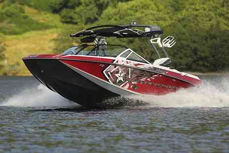 Loch Lomond Wakeboard - Speedboat Ride on Loch Lomond  - Save 50%
