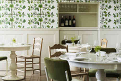 Stoke Place - Double AA Rosette Three Course Lunch with Prosecco for Two - Save 37%