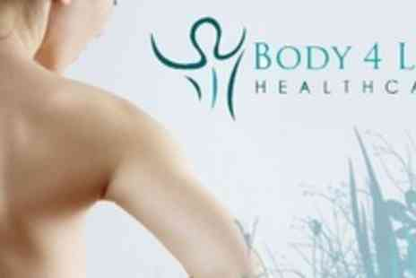 Body 4 Life Healthcare - Four Chiropractic Sessions Including Consultation - Save 82%