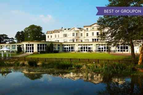 The Cheltenham Park Hotel - One Night stay For 2 With Dinner and Wine - Save 0%