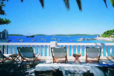 Amfora Hvar Grand Beach Resort - Head to Croatia for Three, Five or Seven Nights stay at a Four resort With breakfast included - Save 48%
