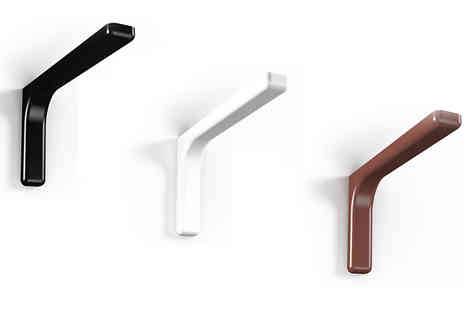 Mfd - Pair of Shelf Brackets - Save 46%