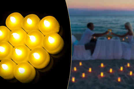 Deals2You - 10 Battery Operated Tea Lights - Save 50%