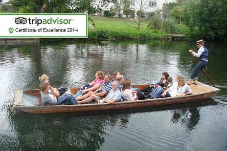 Lets Go Punting - Chauffeured punting tour for two   - Save 0%