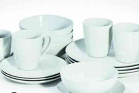 Viners - 32 Piece Porcelain Dinnerware Set - Save 75%