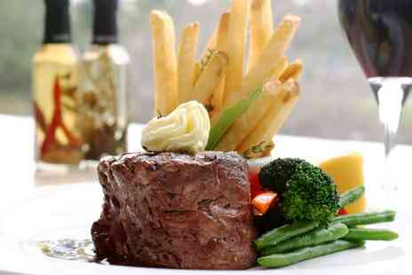 New Elysium - Two Course Steak Meal With Wine For Two - Save 0%