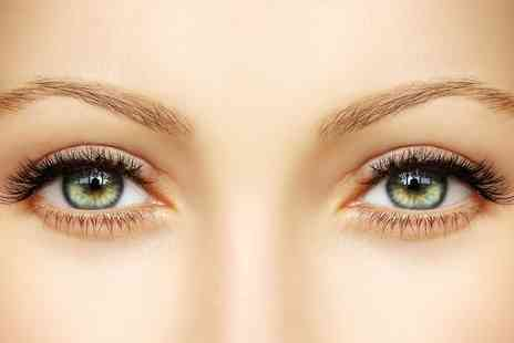 Lady Glamoureyes - Eyebrow Extensions With Shape and Tidy  Plus Lash Tint  - Save 64%