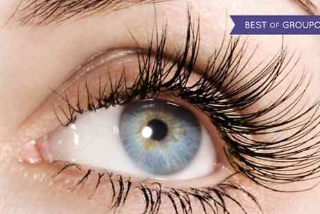 Just Beauty - Semi Permanent Lashes With Brow Shape or Tint  - Save 55%