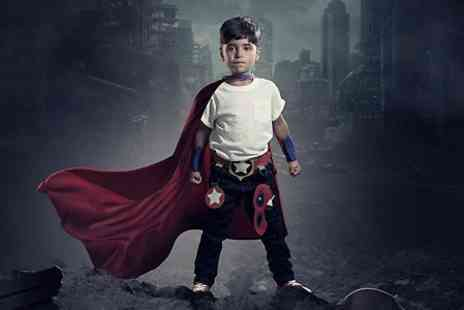 Mackney Photography - Mini Superhero Gift Experience  - Save 93%