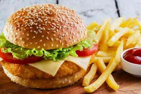 Mr Frangos Grill - Gourmet Burgers, Sides and Drinks for Two  - Save 59%