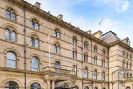 Great Victoria Hotel - Two Night Stay For Two With Two Course Meal and Wine in West Yorkshire - Save 63%