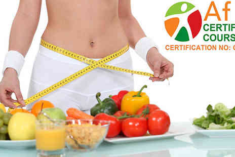 Diet Specialist - AfN Certified Nutrition Adviser Online Course - Save 92%