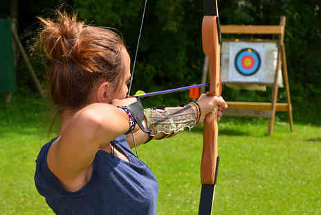 Lea Marston Events - Shooting and archery activity day for one including a hawk walk - Save 0%