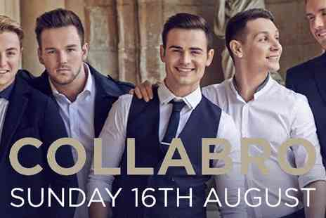 Cuffe and Taylor - General admission or VIP ticket to see Collabro - Save 50%