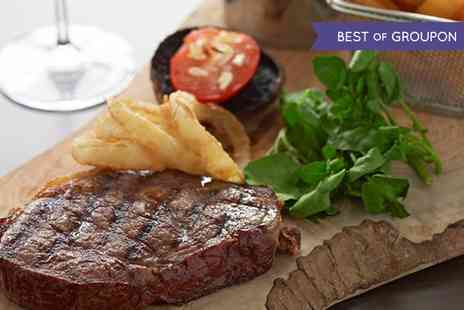 The Marmor Grill - Steak Meal With Cocktail For Two  - Save 0%