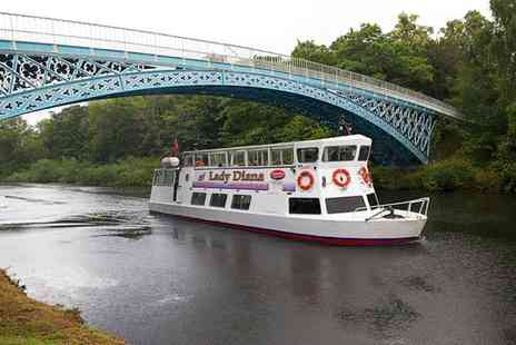 Chester Boat - Two Adult Tickets or One Child Ticket for a River Dee Cruise to Iron Bridge - Save 43%