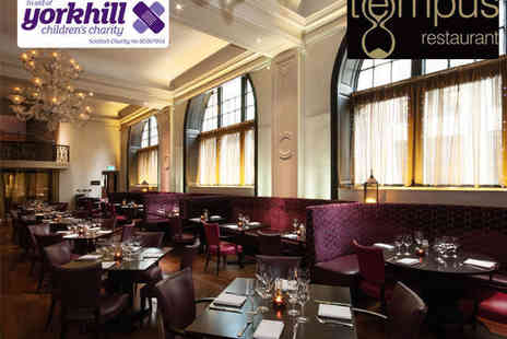 Grand Central Hotel - Main Course and Glass of Bubbly Each for Two  - Save 0%