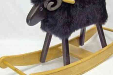 The Rocking Sheep Company - £100 Voucher for £50 to Spend on any Rocking Ram or Ewe - Save 50%