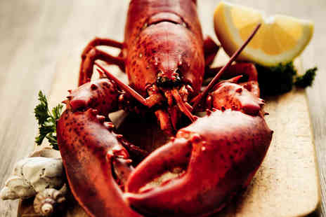 Fishers Restaurant  - Whole Lobster Lunch with Prosecco for Two People - Save 64%
