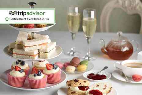 Hardwicke Hall Manor Hotel - Afternoon tea for Two including a glass of sparkling wine each   - Save 62%