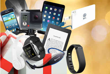 Wowcher Mystery Deal -  Wowcher Mystery Electronics Box with products include Apple Watch, Kindle Flare, Fitbit, GoPro, Beatz, Samsung Galaxy, iPad Mini and more! - Save 0%