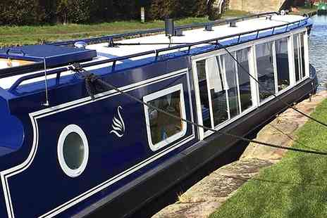 Blue Swan Boat Hire - Canal Cruise With Afternoon Tea For One - Save 0%