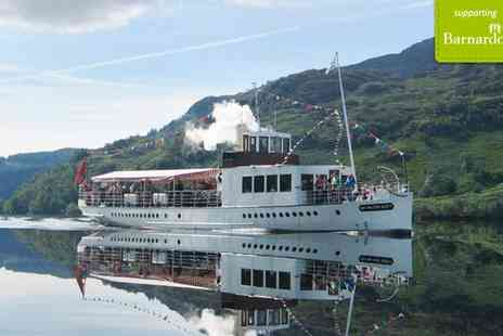 Loch katrine -  One Hour Steamship Cruise For Two  - Save 48%