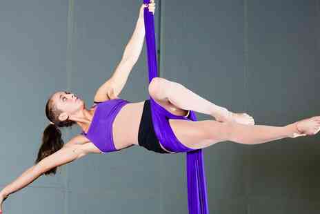 Skylab Studio - Four Week Hoop or Silk Fitness Course or Eight Aerial Fit or Aerial Yoga Classes - Save 68%